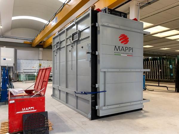 Tecnoglass chooses Mappi for a new HST testing equipment