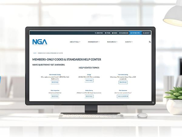 NGA Launches Members-only Codes & Standards Help Center