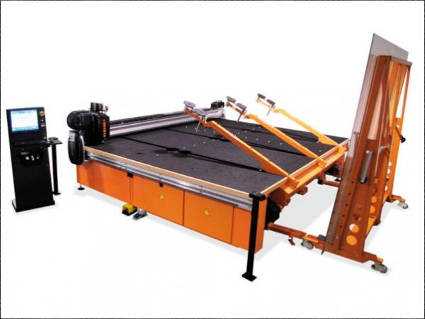 TUROMAS RUBI 303VA - Float glass cutting table