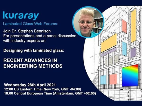 Join Trosifol on the first edition of the LAMINATED GLASS WEB FORUM!