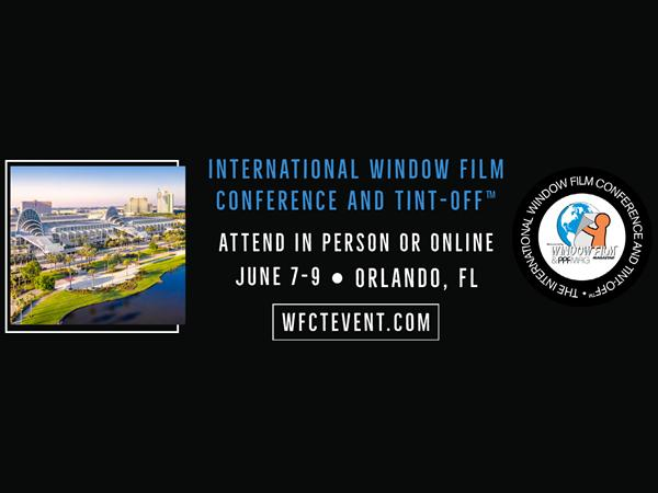 International Window Film Conference and Tint-Off™ Full Program Announced