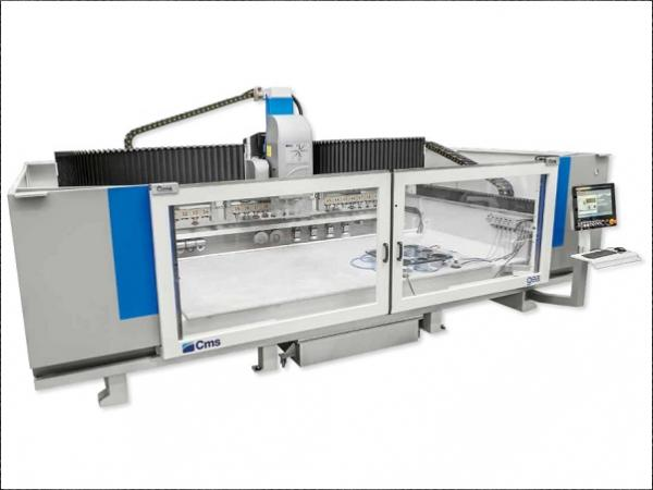 Cms gea: endless glass machining capabilities with just one machine