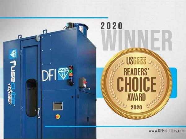 DFI's FuseCube Express Wins US Glass Magazine 2020 Readers Choice Award