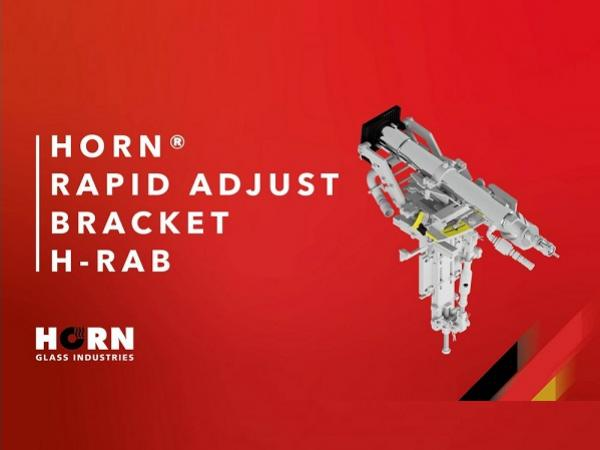 HORN® develops new Burner Bracket H-RAB