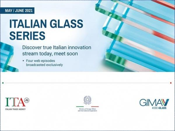 Italy promotes the Italian Glass Series on the web